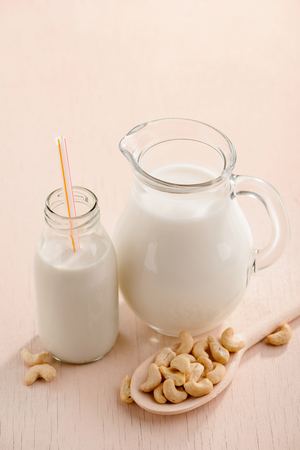 Jug of vegan milk