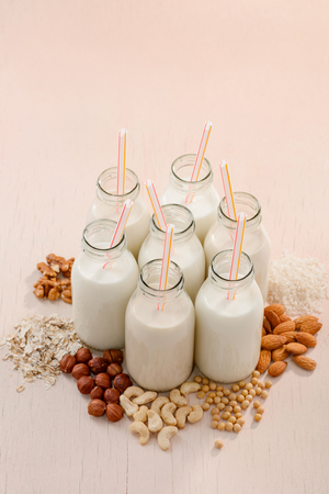 Plant milks and natural ingredients