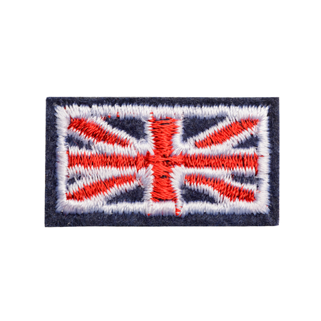 Great Britain flag fabric patch