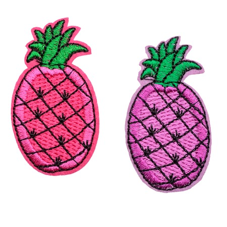 Pink and violet pineapples 版權商用圖片