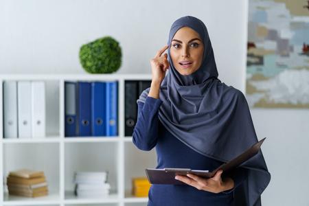 Muslim businesswoman got an idea