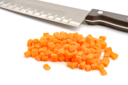 Finely diced carrot