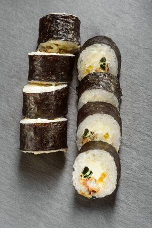 Cream cheese and tuna rolls