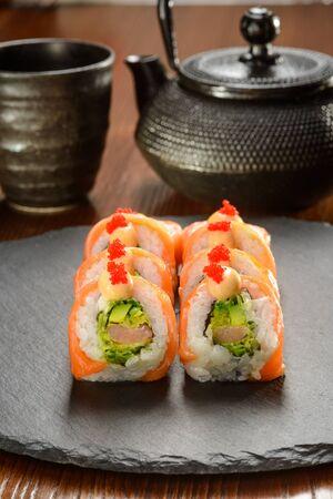 Shrimp and Tartar sauce rolls