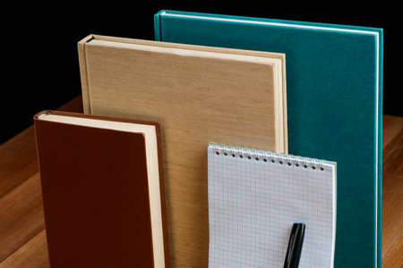Hardcover books, diary and notepad. Various colors and sizes