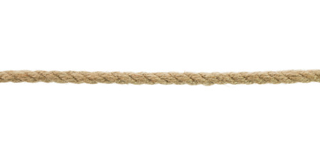 rope isolated on the white background. photo