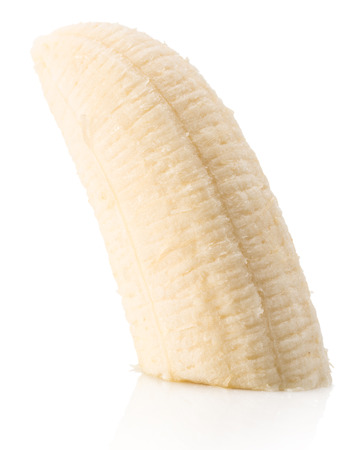 banana slice: banana slice isolated on the white background.