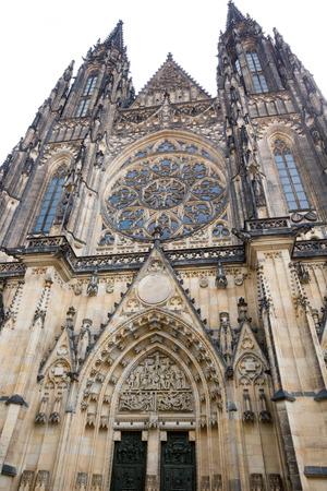 Cathedral in Prague, Czech Republic.
