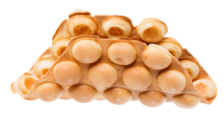 Hong Kong Wafers isolated on a white background.