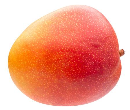 mango isolated on a white background.