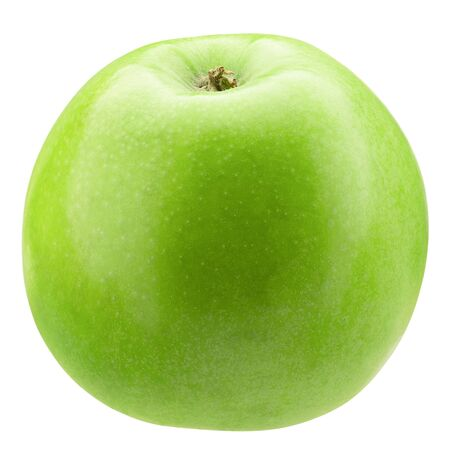 green apple isolated on a white background. Reklamní fotografie