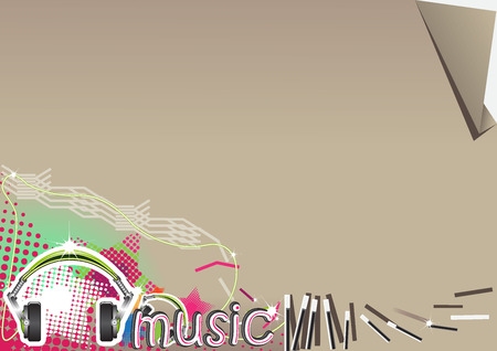 the music: Background music