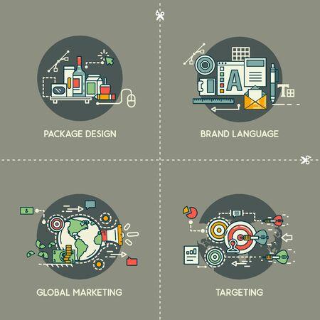 Package design, brand language, global marketing, targeting