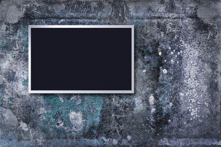 lsd: lsd monitor on grunge background  Stock Photo