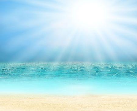 Sunny tropical beach Stock Photo - 7927882