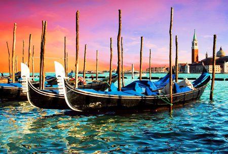Venezia - travel romantic pleace Stock Photo
