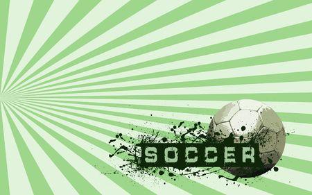 Grunge Soccer Ball background  photo