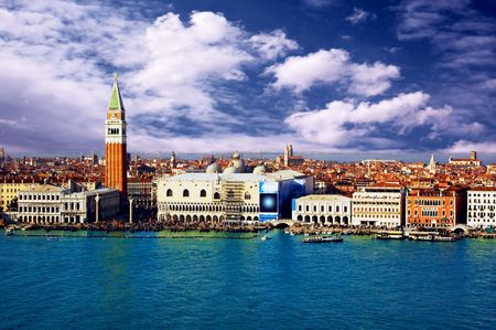 Venezia - travel romantic pleace Stock Photo