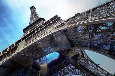 eiffel: The Eiffel tower is one of the most recognizable landmarks in the world.