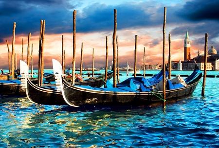 Venezia - travel romantic pleace Banque d'images