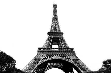 The Eiffel tower is one of the most recognizable landmarks in the world. photo