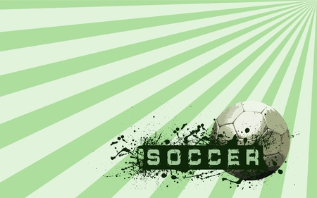 Grunge Soccer Ball background  Stock Photo - 8655500