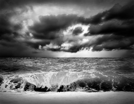 View of storm seascape Stock Photo - 9701753
