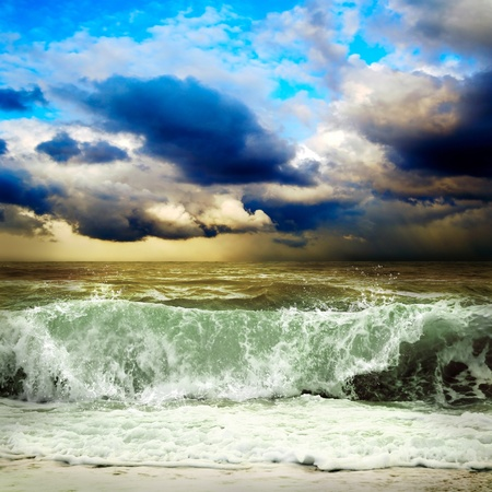 View of storm seascape Stock Photo - 9701881