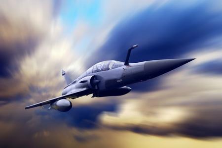 Airplan Militar de la velocidad
