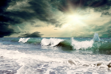 Beautiful View of seascape photo
