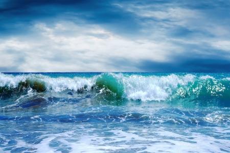 바다의 아름 다운보기 스톡 콘텐츠