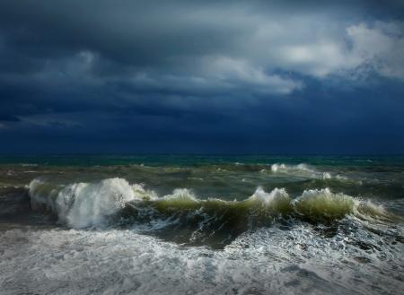 폭풍 경치의 전망