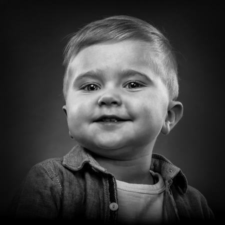 child portrait: Portrait of a blonde child Stock Photo