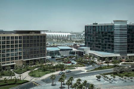 beautifull: Beautifull view on Abu Dhabi. Stock Photo