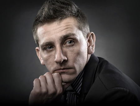 contemporary: Portrait of contemporary man