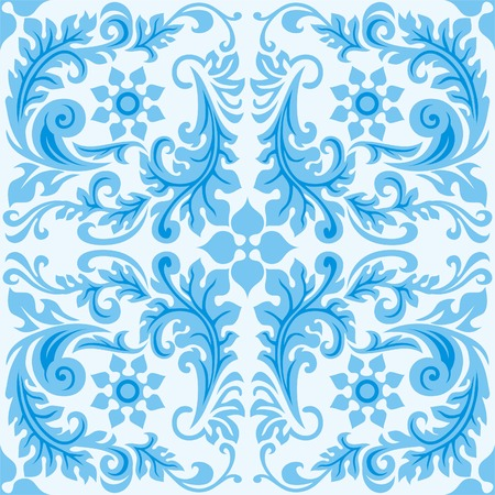 Seamless strip pattern in traditional style. Design element. Illustration