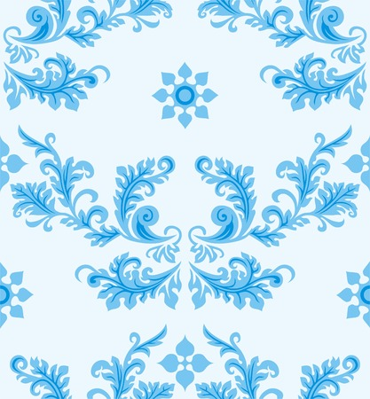 Seamless strip pattern in traditional style. Design element. Vector