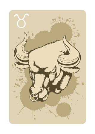 taurus:  sign of the taurus