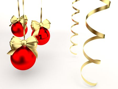gold string: christmas toys