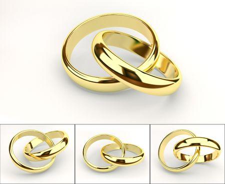 anniversaire mariage: anneaux de mariages