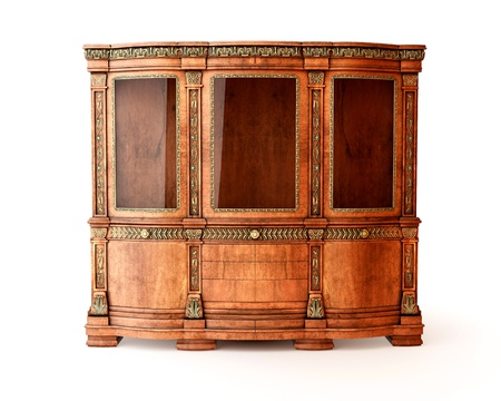 Isolated luxury dresser on white background Stock Photo - 8484574