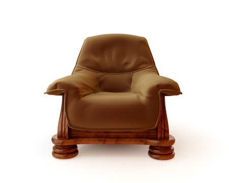 Luxury, soft, comfortable, leather chair Stock Photo - 8549234
