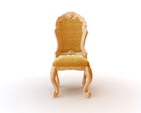 Furniture royal antique glossy seats photo