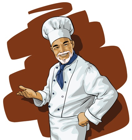 commercial kitchen: Chef invites or points