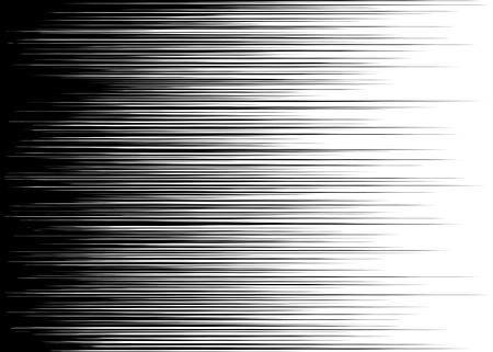 Comic-schwarz und weiß horizontale Linien Hintergrund Rechteck Kampf Stempel für die Karte Manga oder Anime Geschwindigkeit Grafik Textur Superhero Basküle Sun ray oder Raum-Ton-Elemente Vektor-Illustration