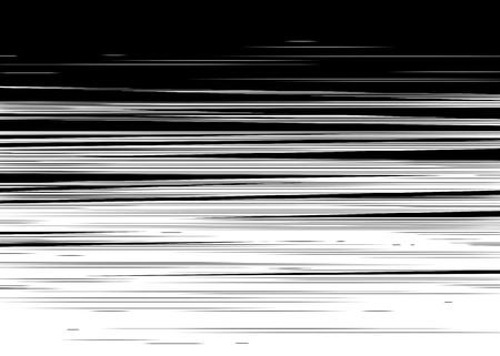 lineas horizontales: Cómic negro y blanco líneas horizontales Fondo del rectángulo sello lucha por la tarjeta de Manga o en un marco de acción del super héroe gráfico textura de la velocidad de anime Ilustración de Sun elementos de rayos o de tono espacio vectorial