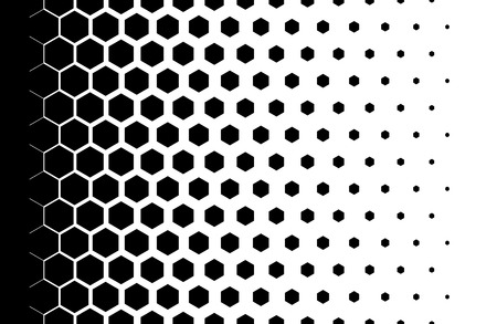 Gradient pattern with hexagons Halftone design Light effect Vector illustration Фото со стока - 76373634