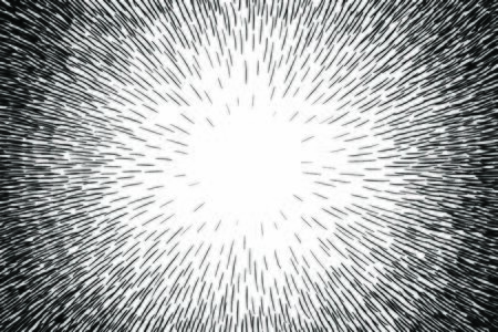Comic hand drawn radial lines background Sun rays or star burst element Zoom effect Square fight stamp Manga or anime speed graphic texture Superhero frame Explosion vector illustration