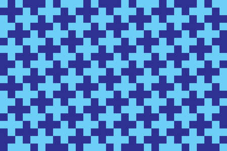 Pixels seamless pattern Color pixelated background 8 bit retro style Vector backdrop for game, web, fabric