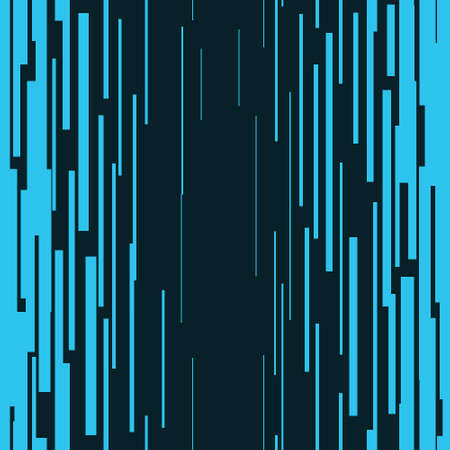 Blue vertical lines Seamless pattern Graphic texture Superhero action frame Space tone elements Digital vector illustration Isolated object